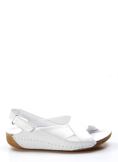 Fast Step Sandalet Beyaz